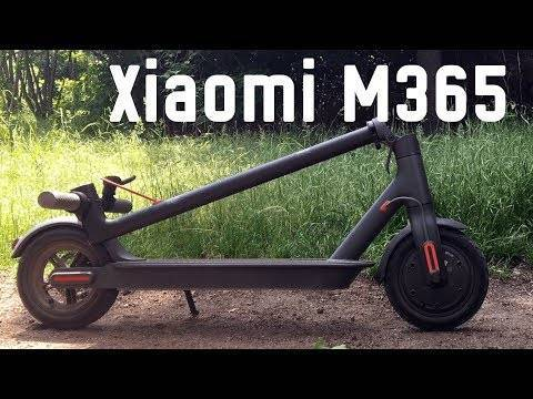 Электросамокат Xiaomi Mijia Electric Scooter (Черный) Видео